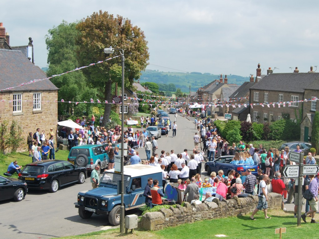 Peak District village events