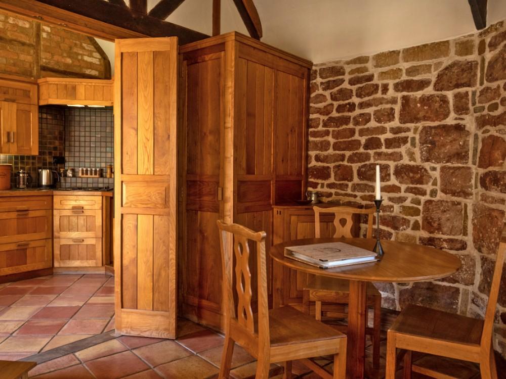 Hazelnut Dining and kitchen area