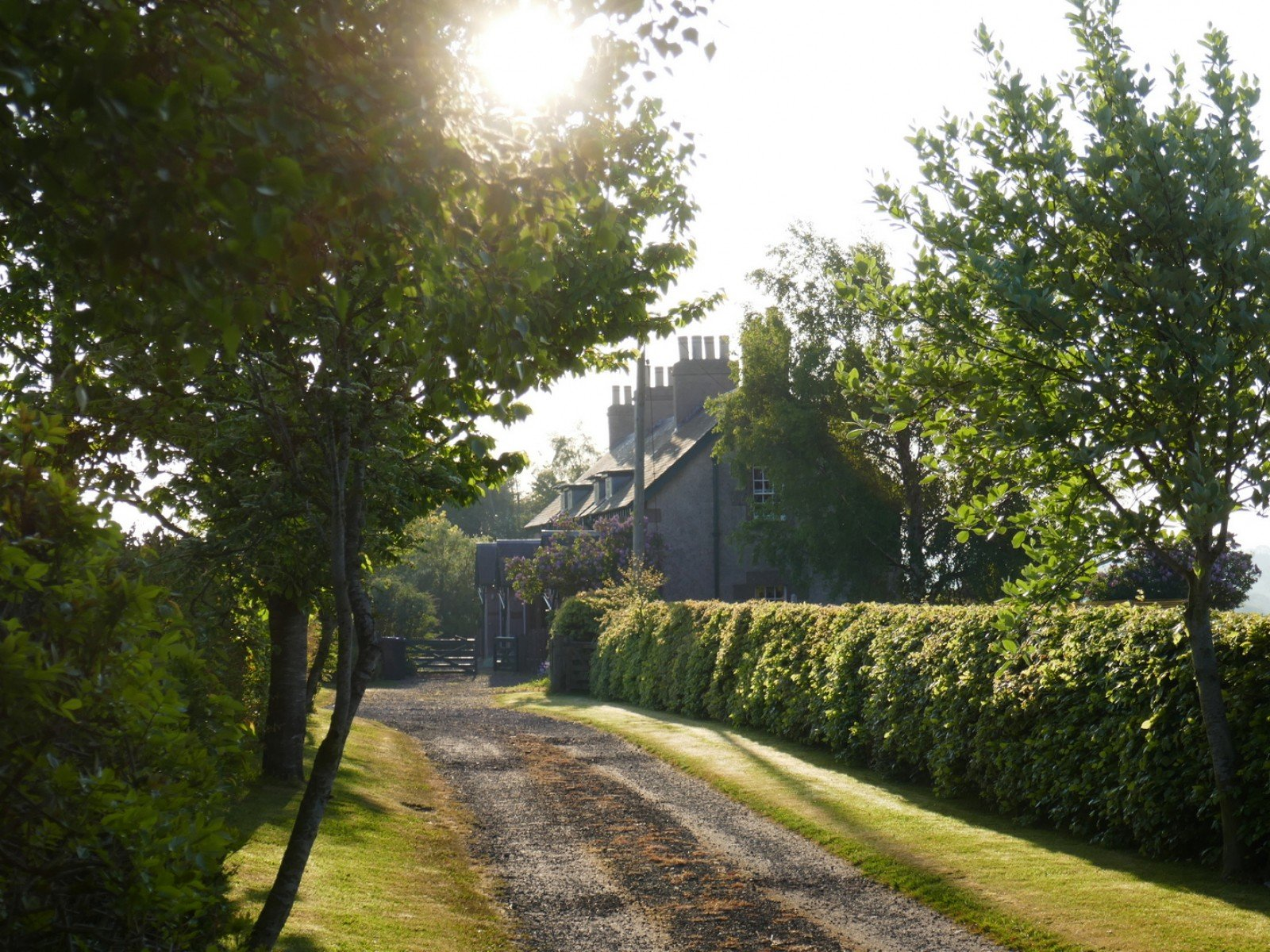 Hendersyde Holiday Cottages on their own lane