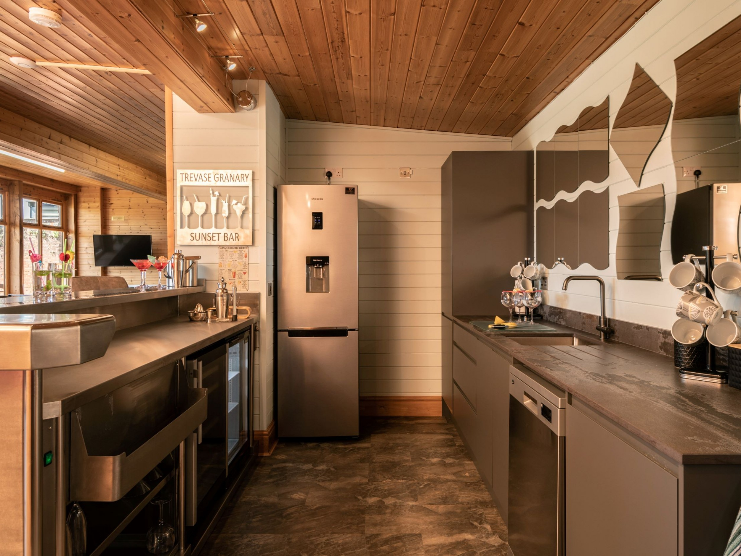 Kitchenette in Games Room
