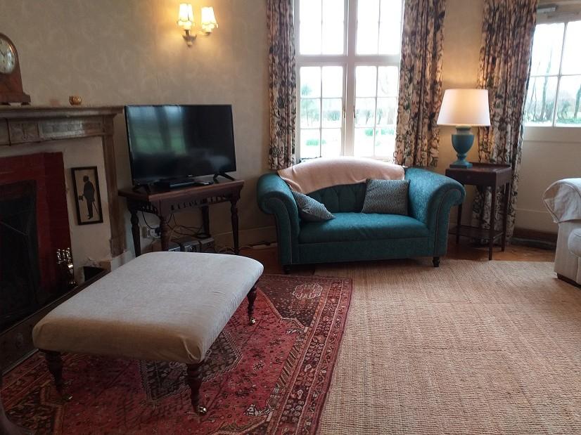 The Oast House TV/Sitting room