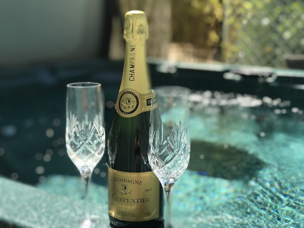 Celebrations in your own Hot Tub