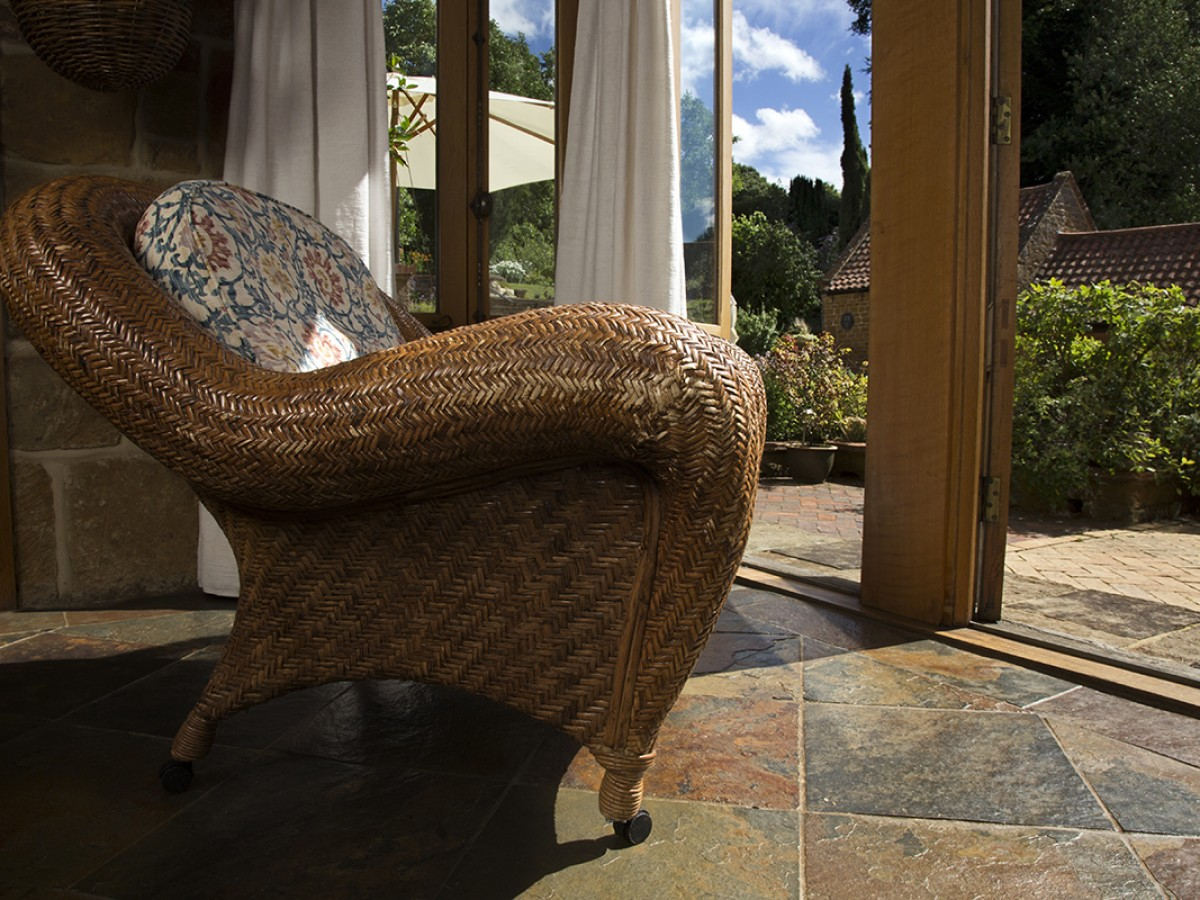 Relaxing chairs to lounge in