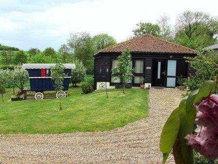 Orchard Barn and The Showman's Wagon