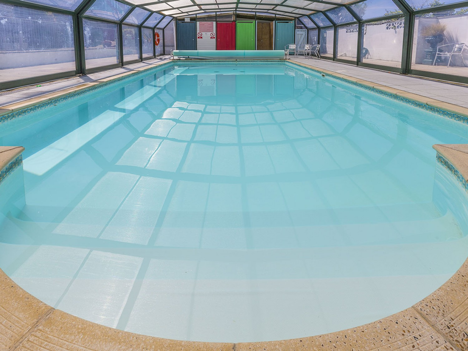 Use of shared Heated Indoor Swimming Pool