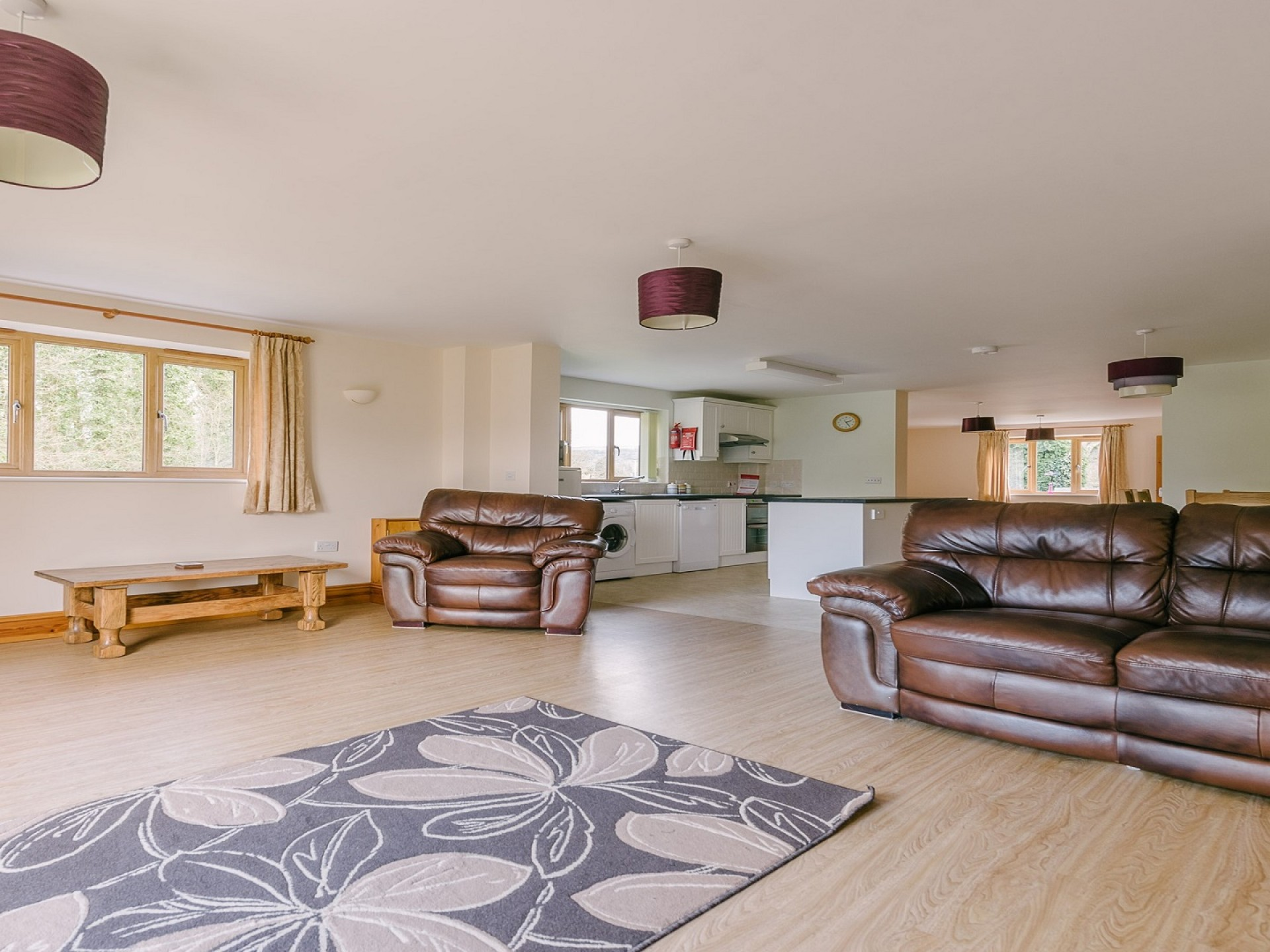 Plumtree Cottage - Open plan lounges , kitchen & diner