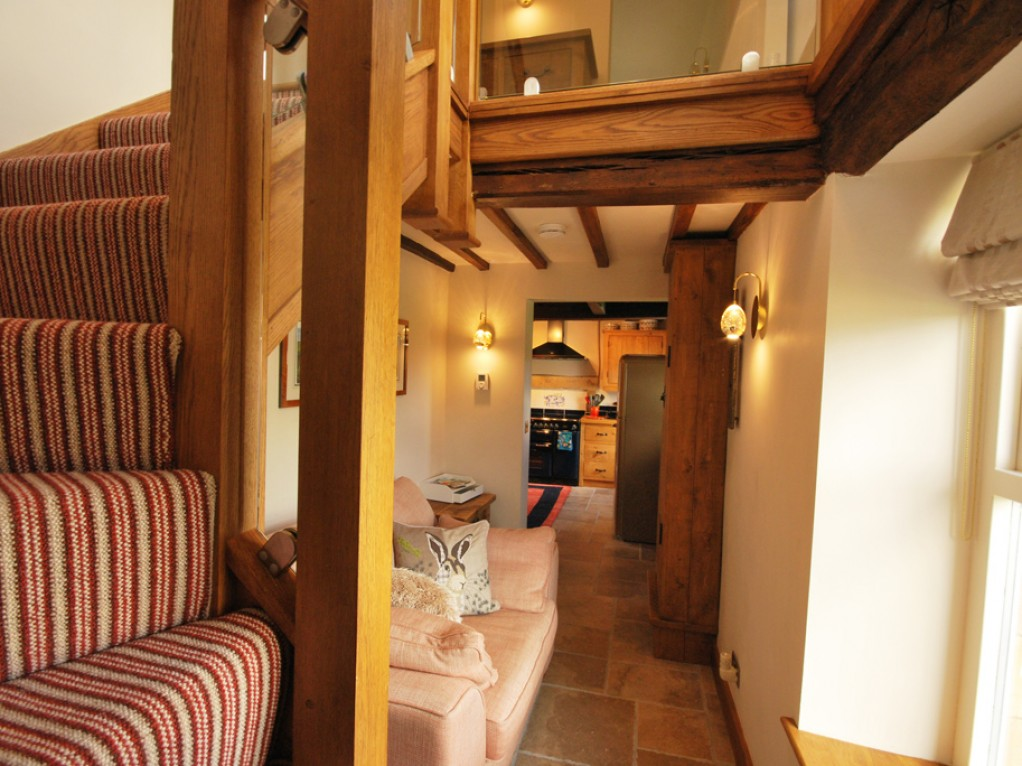 Staircase holiday cottage