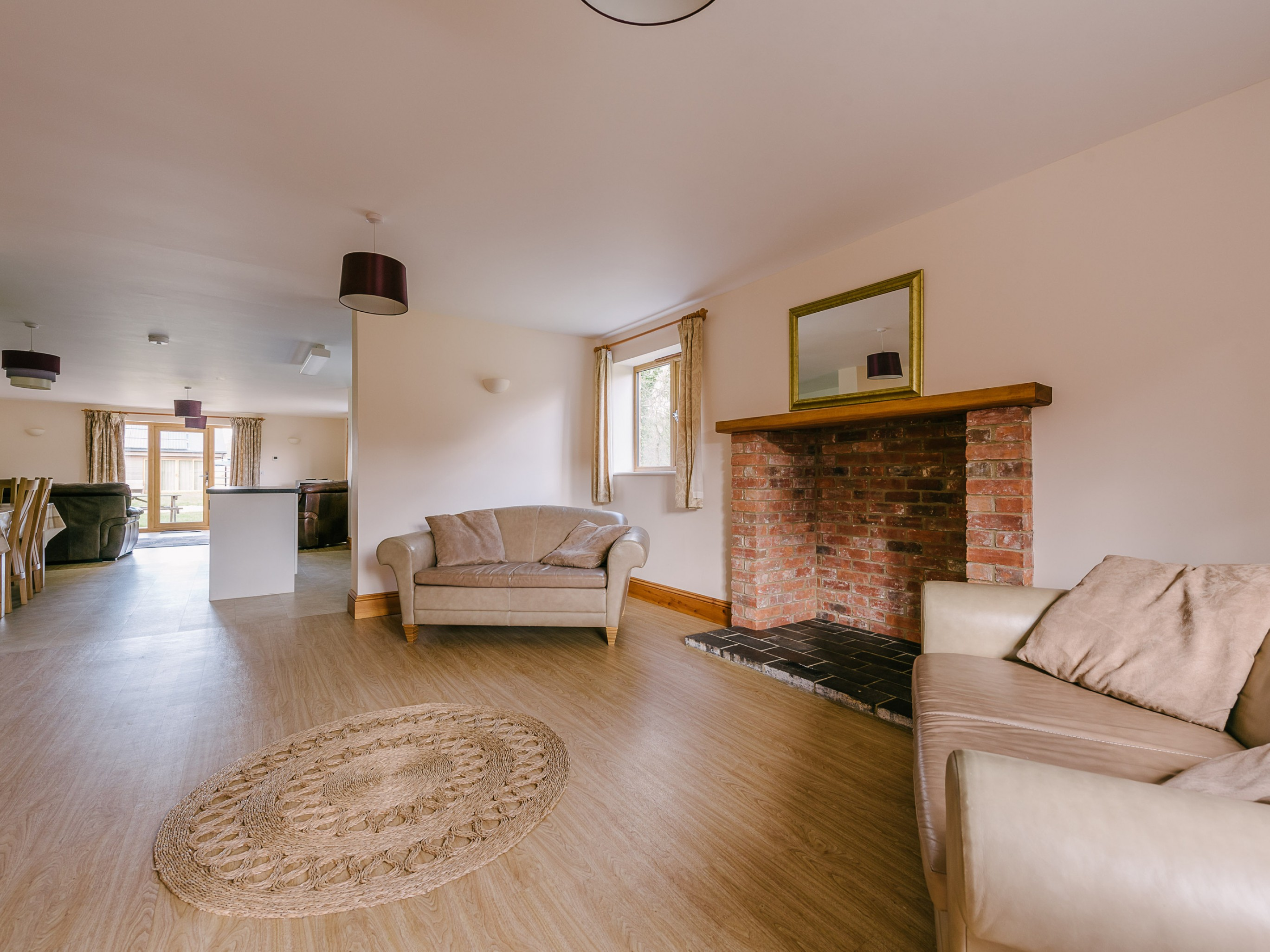 Plumtree Cottage - Open plan lounges, kitchen & diner