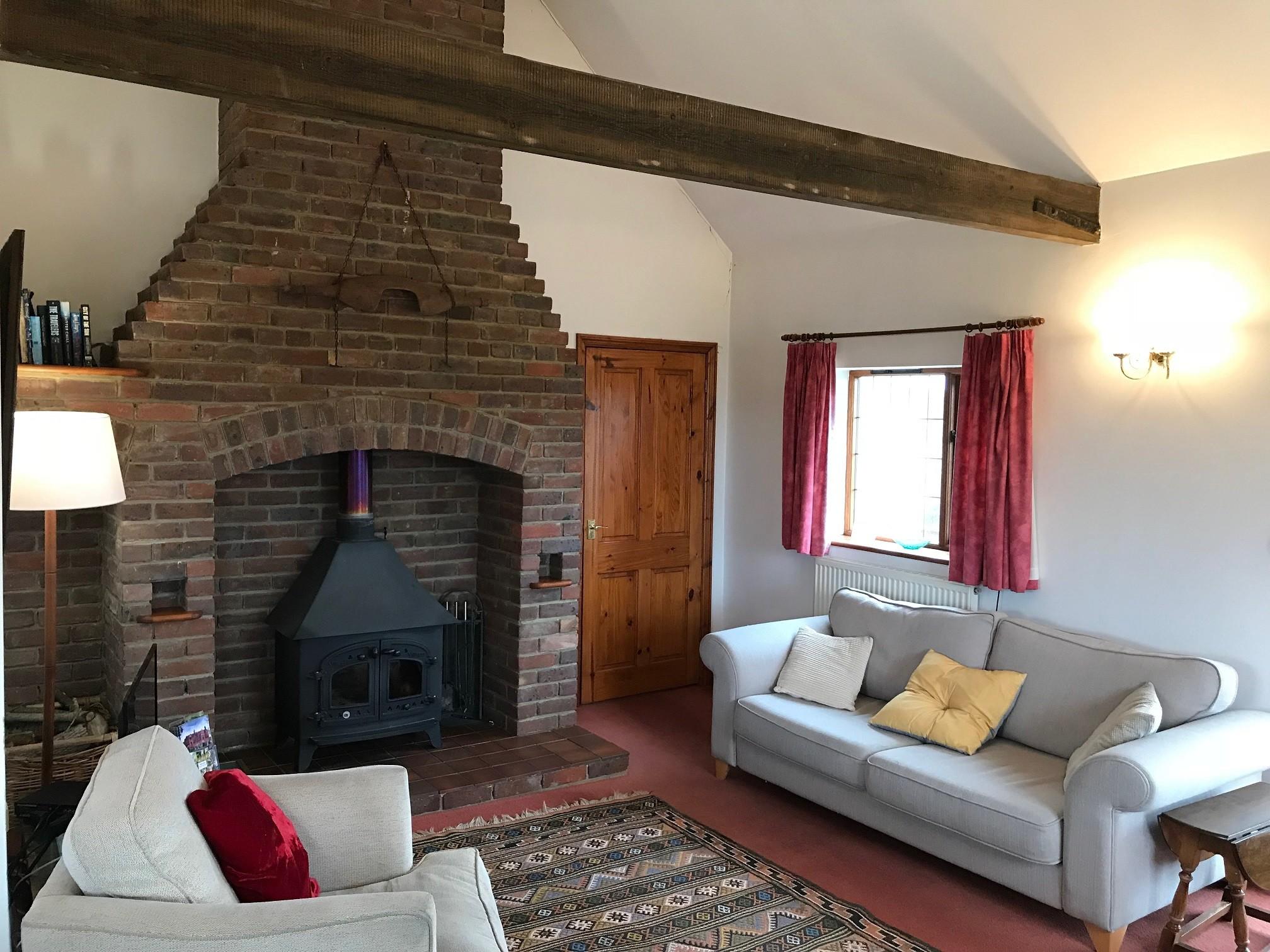 Mounts View Wood burner