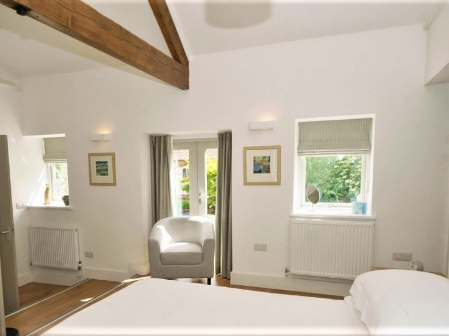 The Plovery master bedroom