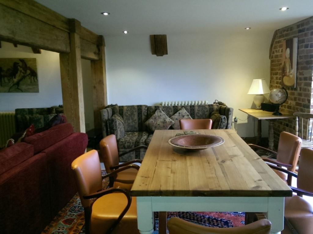 The Main Barn upstairs dining