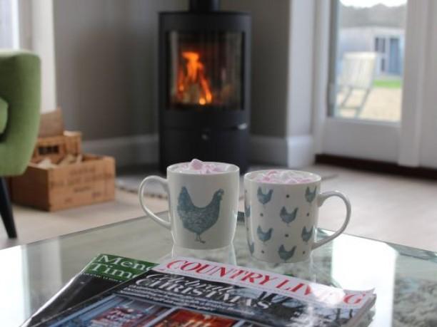 Warming hot chocolate