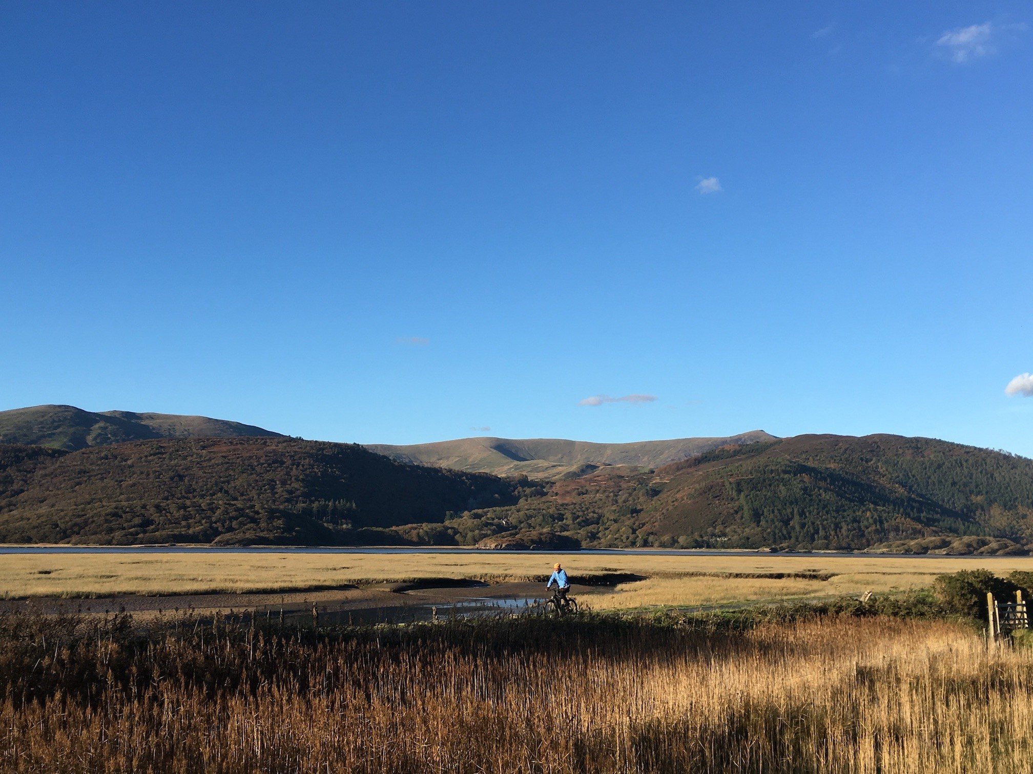 Walk down to the Mawddach Trail through our land