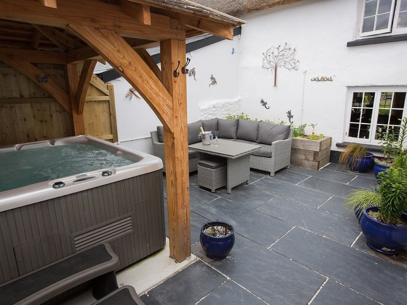 Romantic Hot Tub Cottage in North Devon