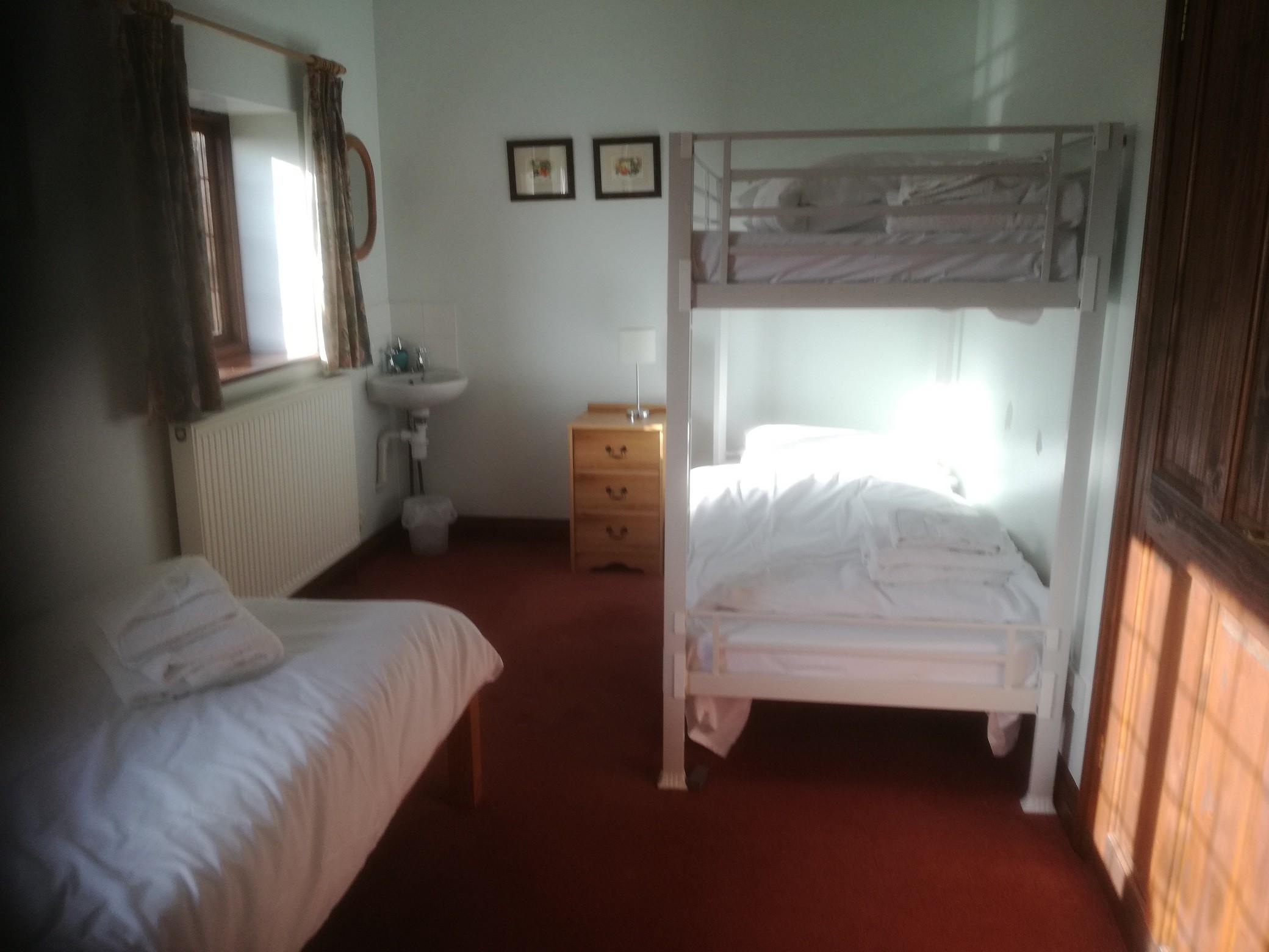 Mounts View triple bunk bedroom