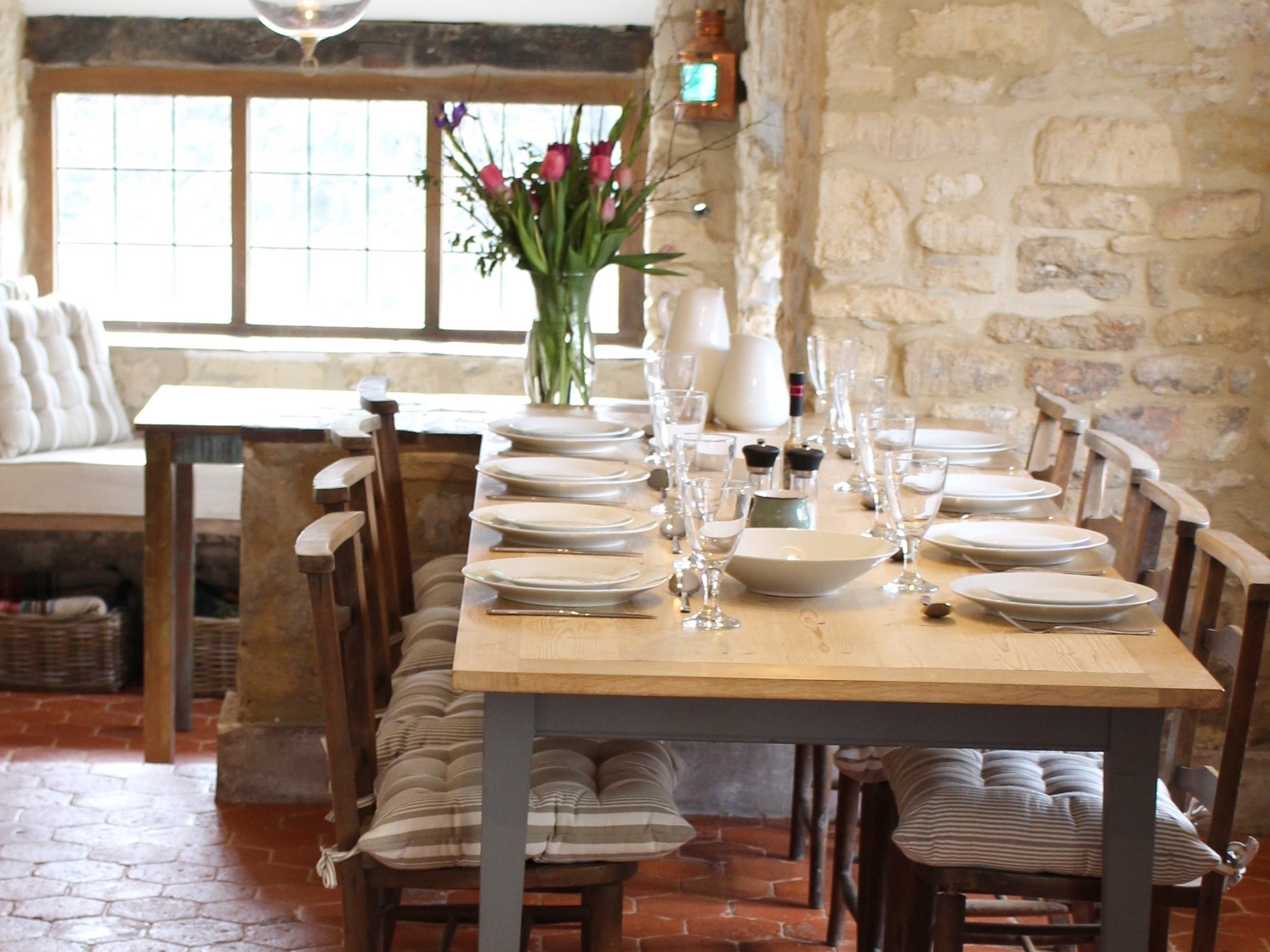 Dining room overlooking Mill wear