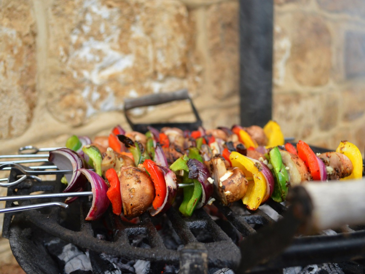 BBQ's supplied for each cottage, pizza oven also available