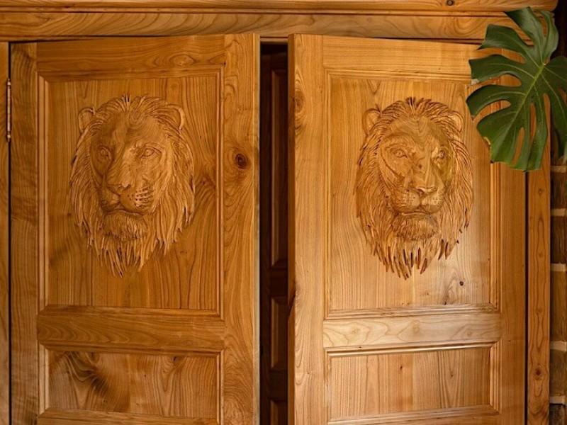Narnia Wardrobe in the verandah