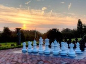 Giant Chess at Greetham Retreat