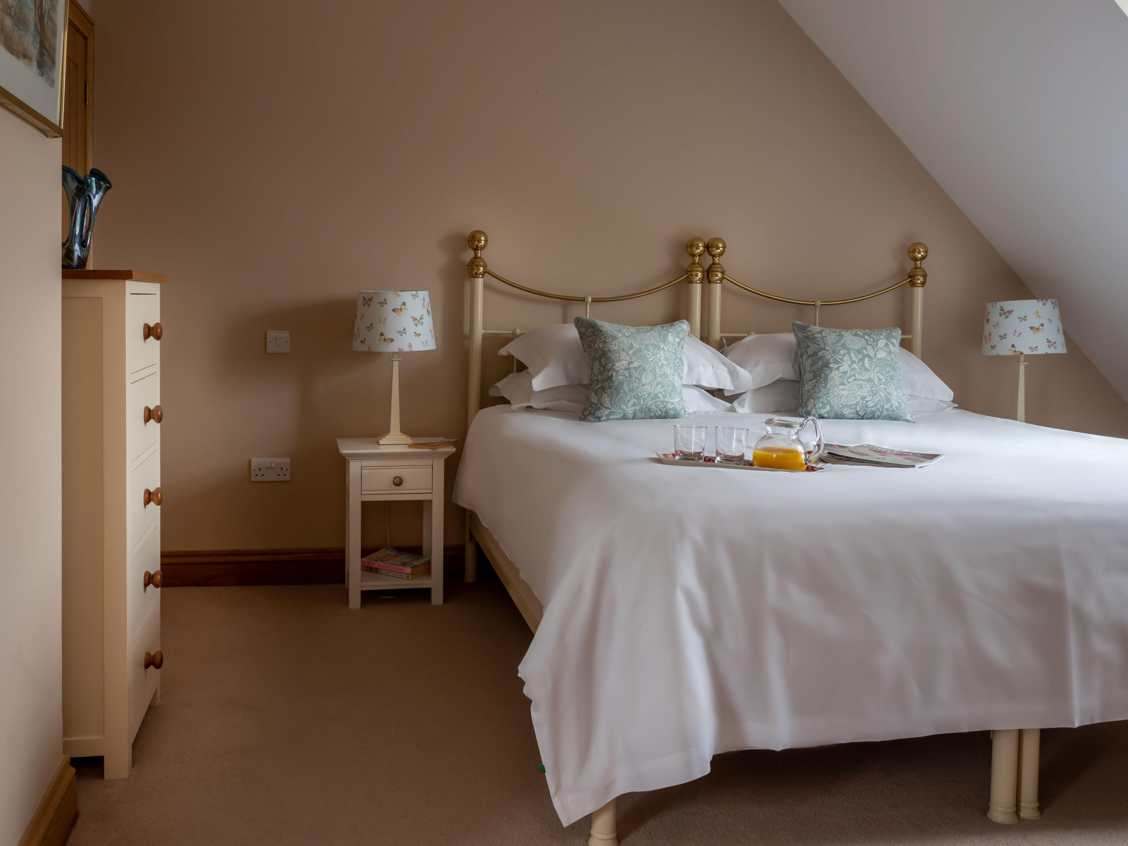 Bedroom 2; twin or double