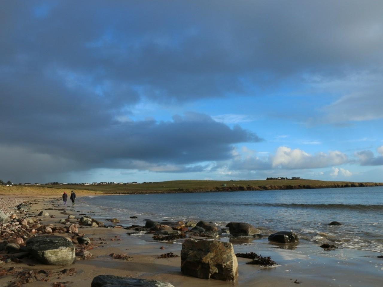 Coll Sands, Lewis Longhouse