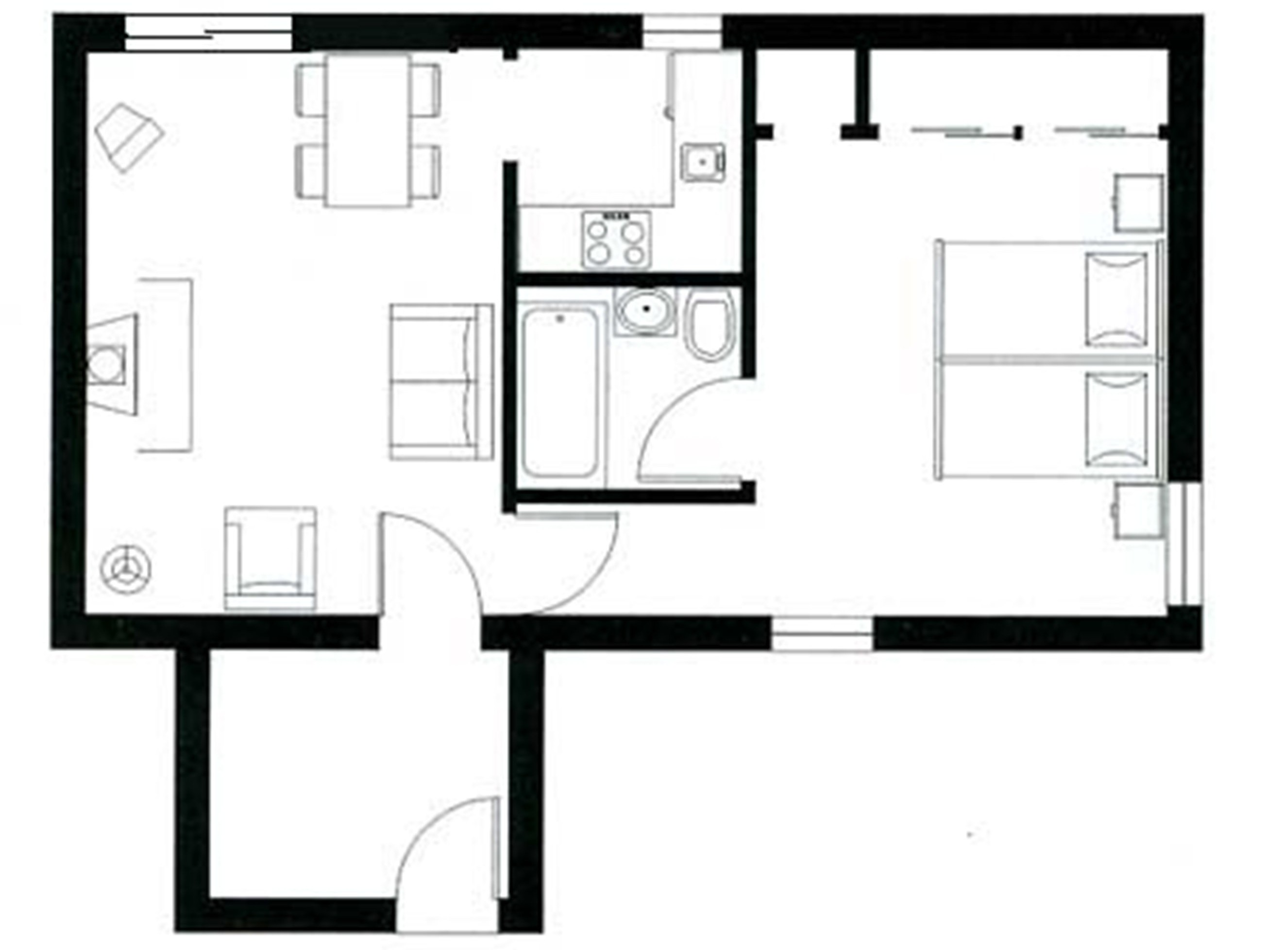 Cedar Cottage Layout
