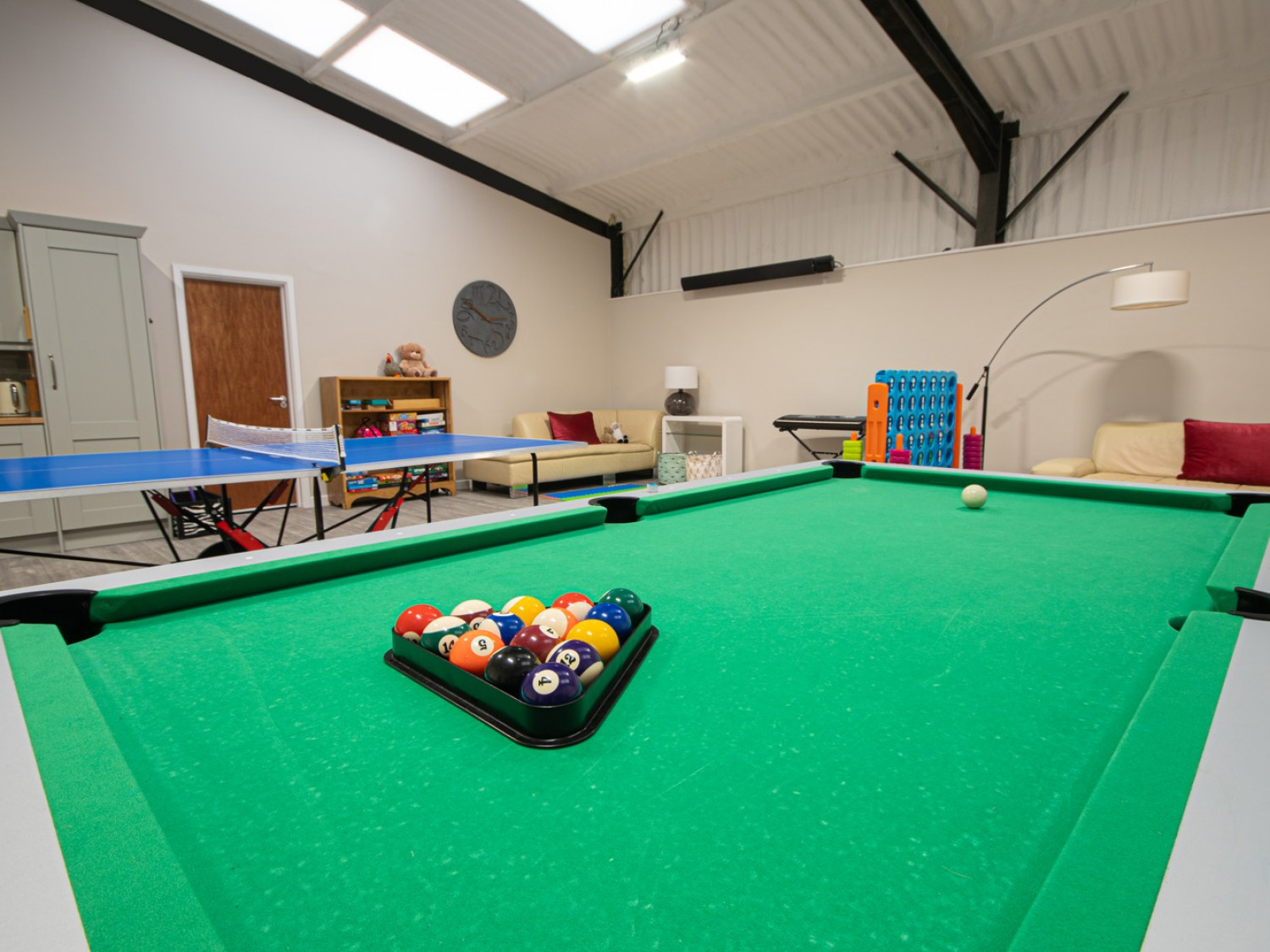 The Games Room At Manor House Farm Cottages