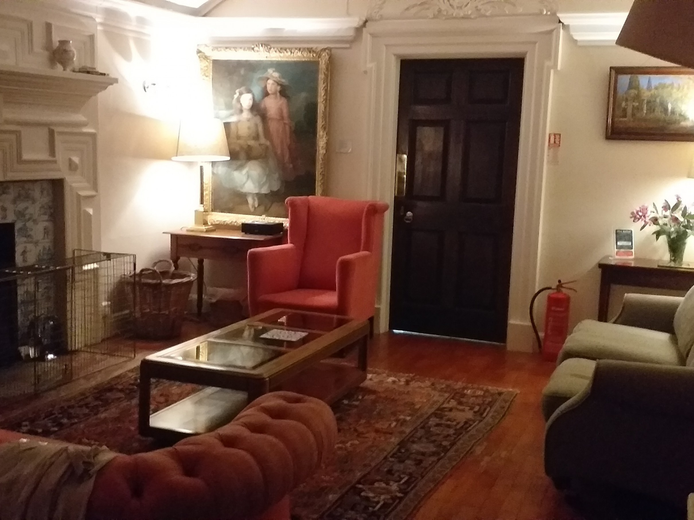 The Wing - corner of the Sitting Room