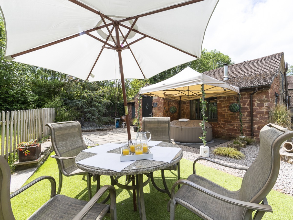 Mill Cottage private garden