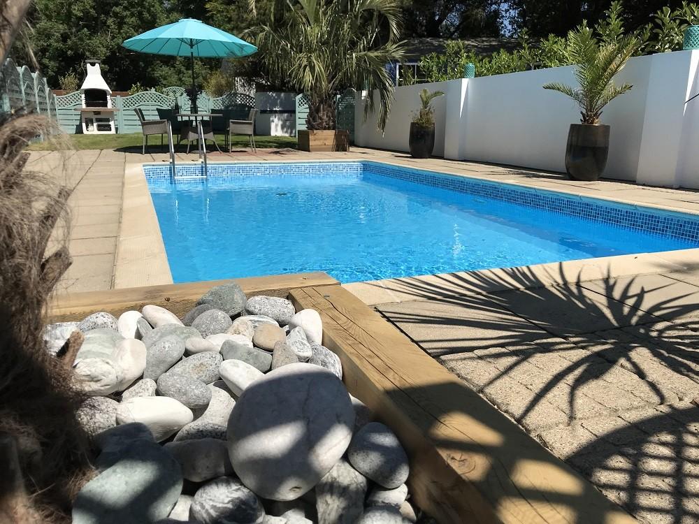 Pool Area at Poolside Lodges