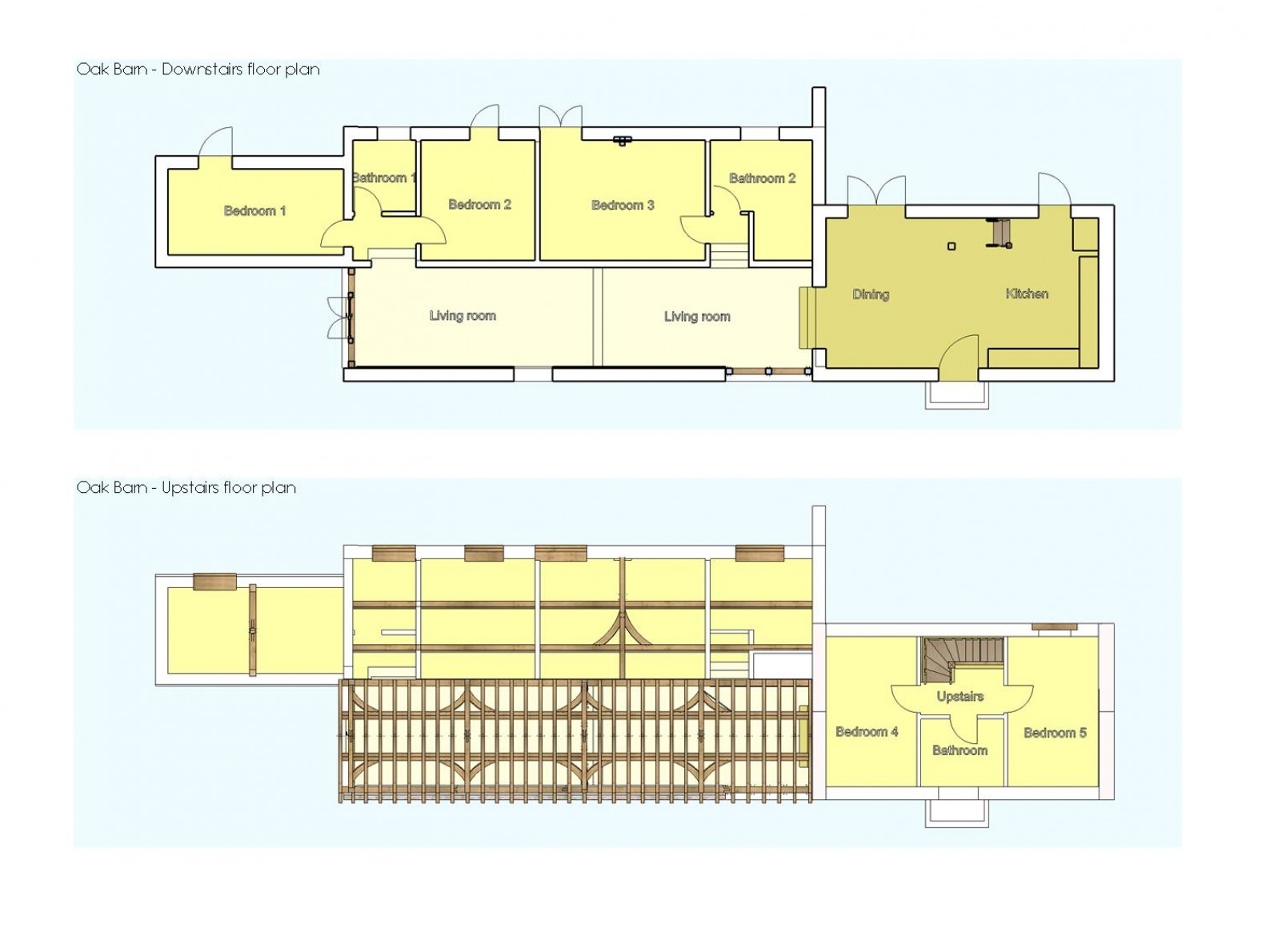 Oak Barn Floorplan