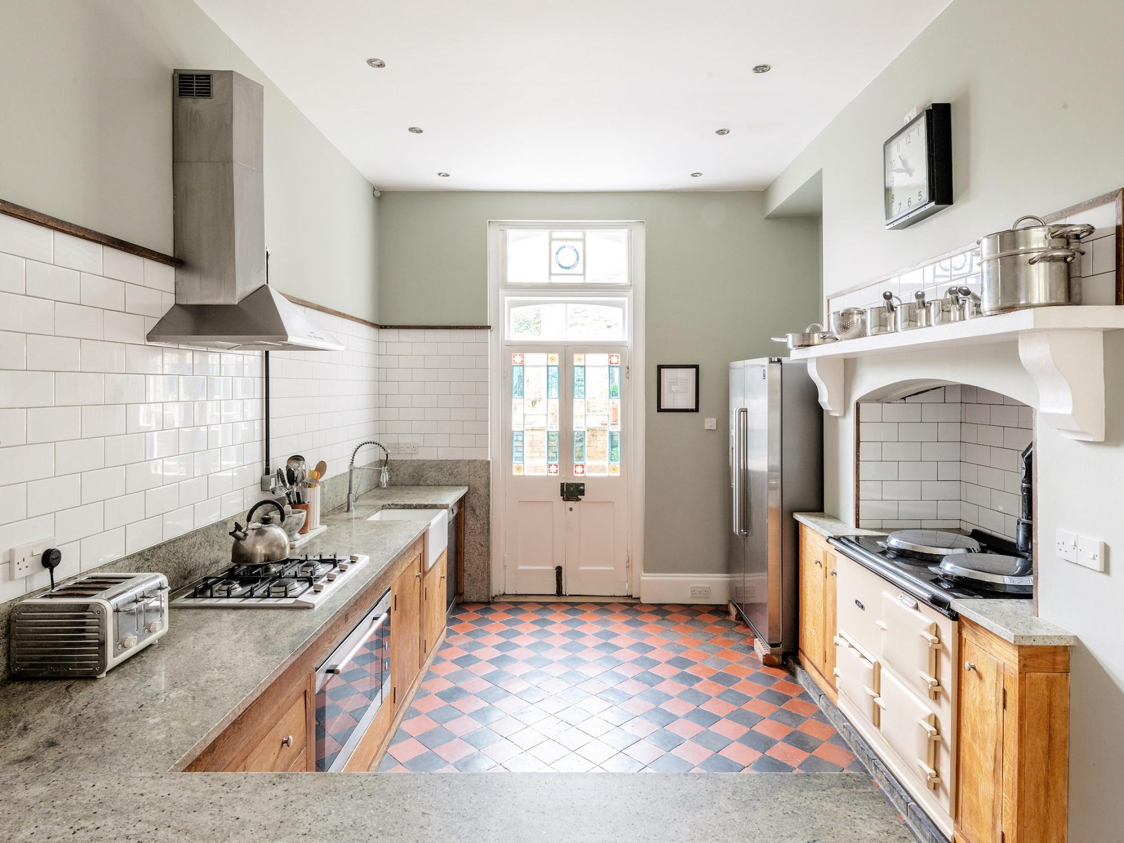 Kitchen, AGA, Miele oven & gas hob