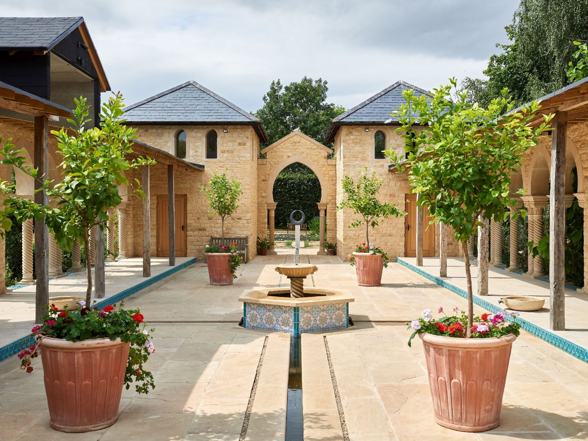 The Pavilion Courtyard