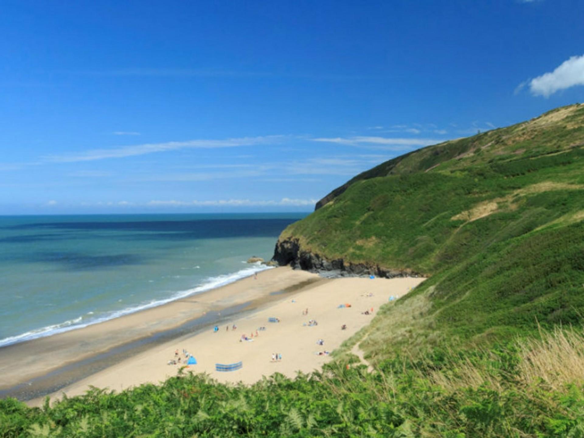 Penbryn National Trust Beach..