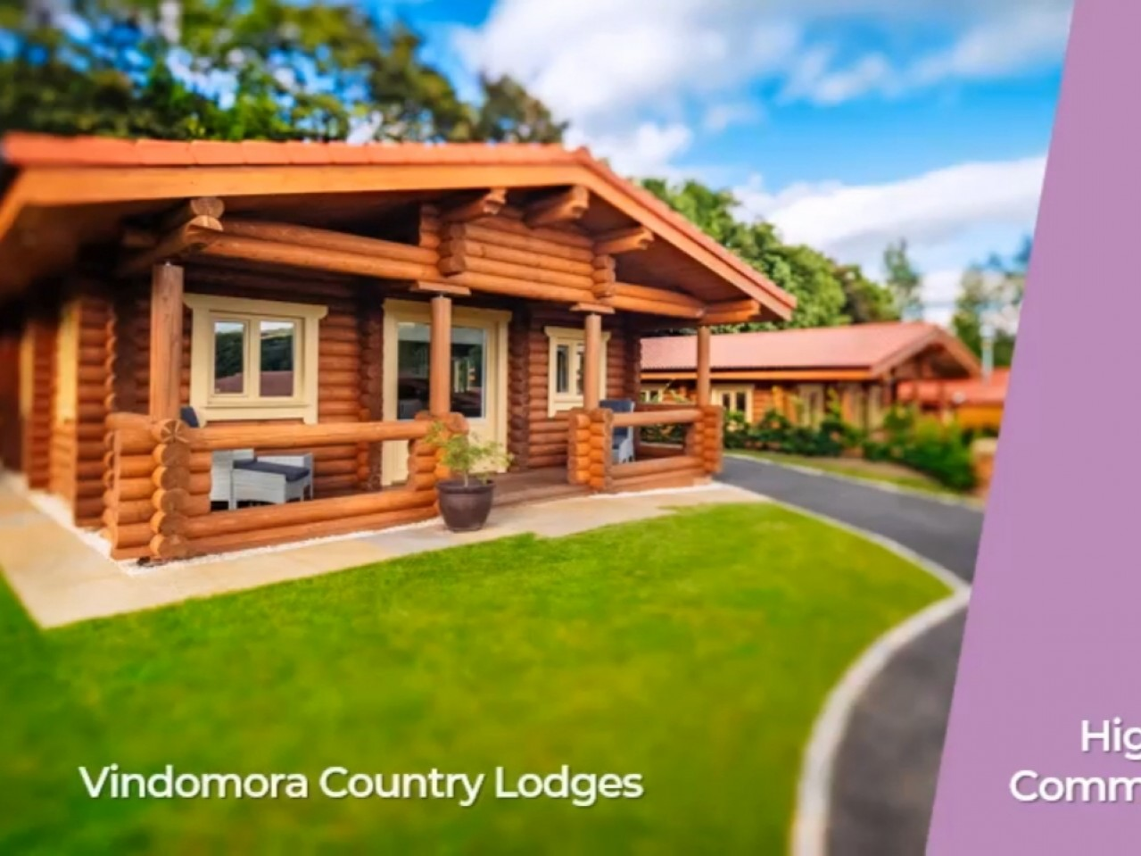 St Ebba Lodge At Vindomora Country Lodges