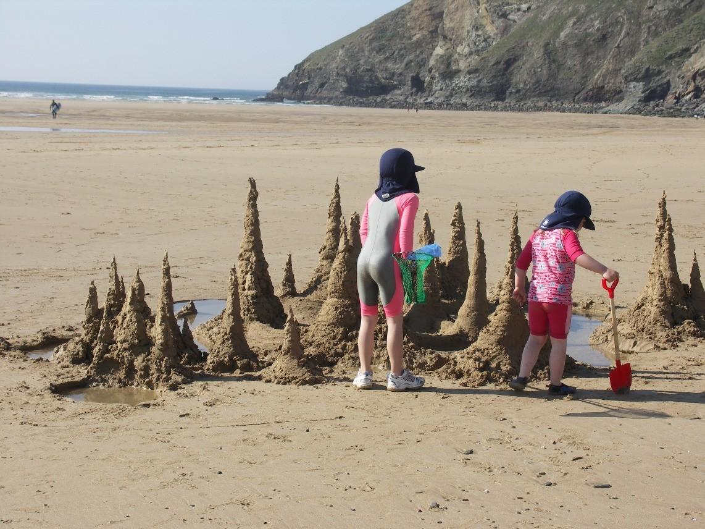 Family beach fun!
