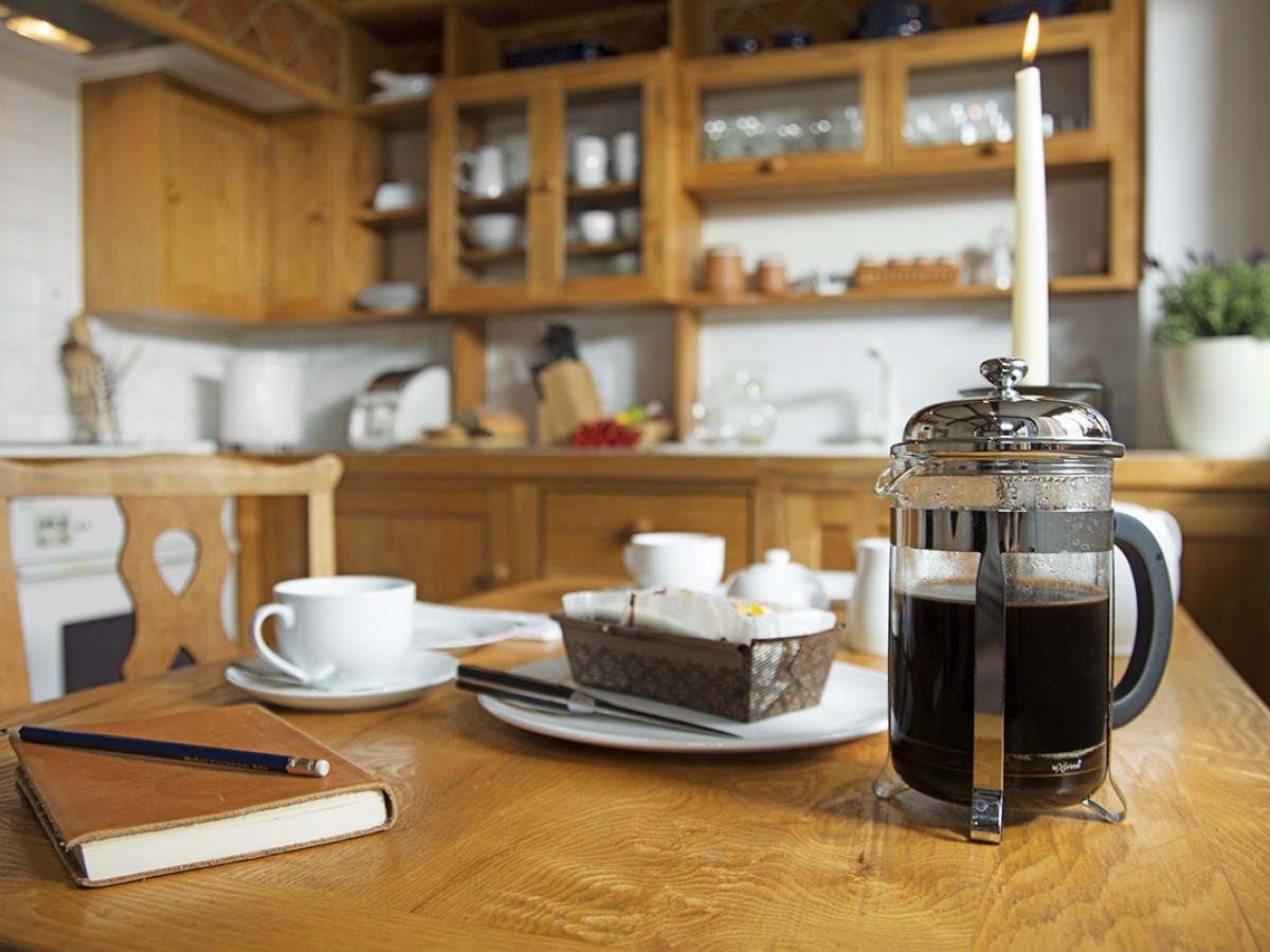 Complimentary Coffee & Cake
