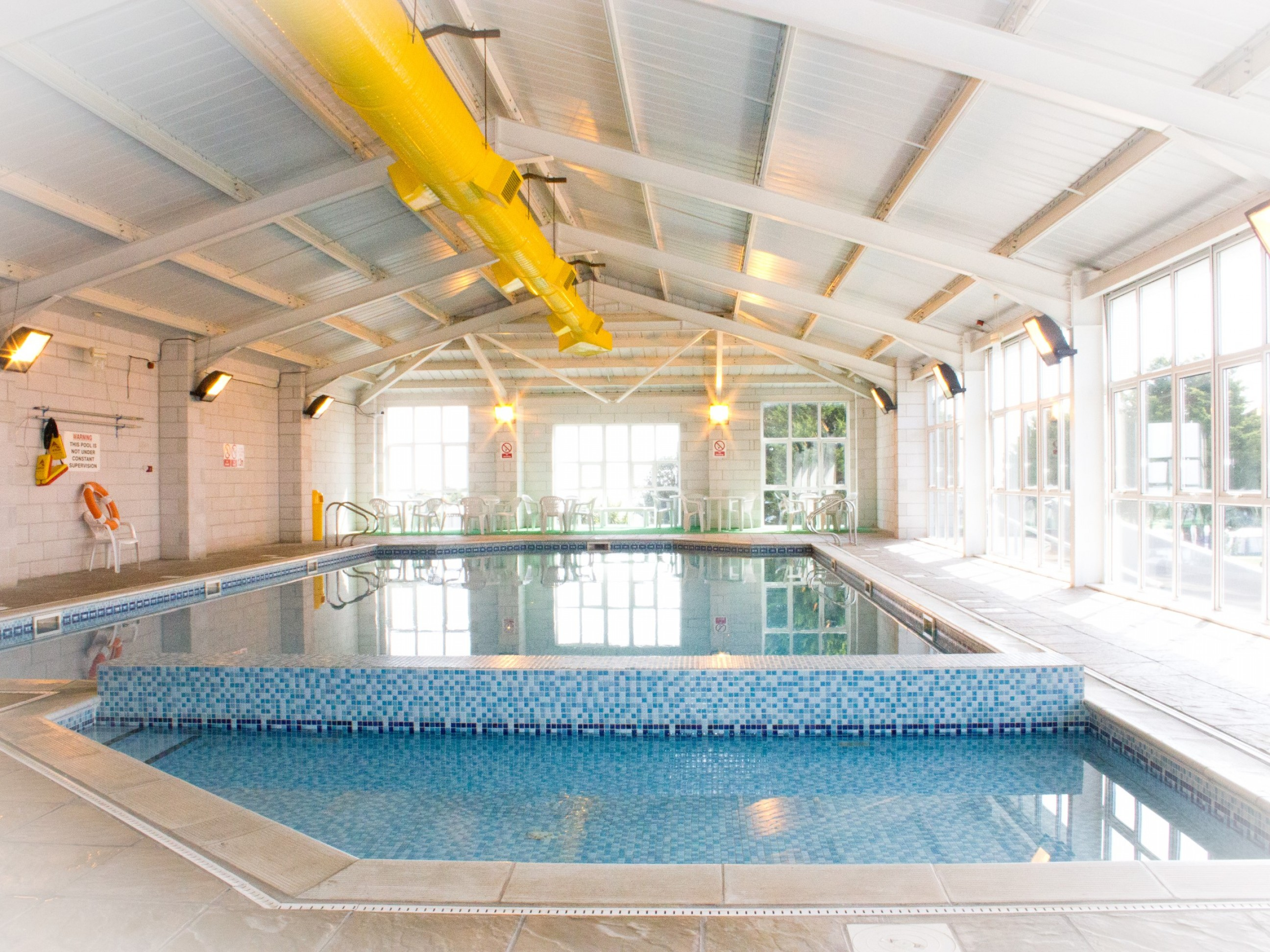 Free use of a local indoor pool