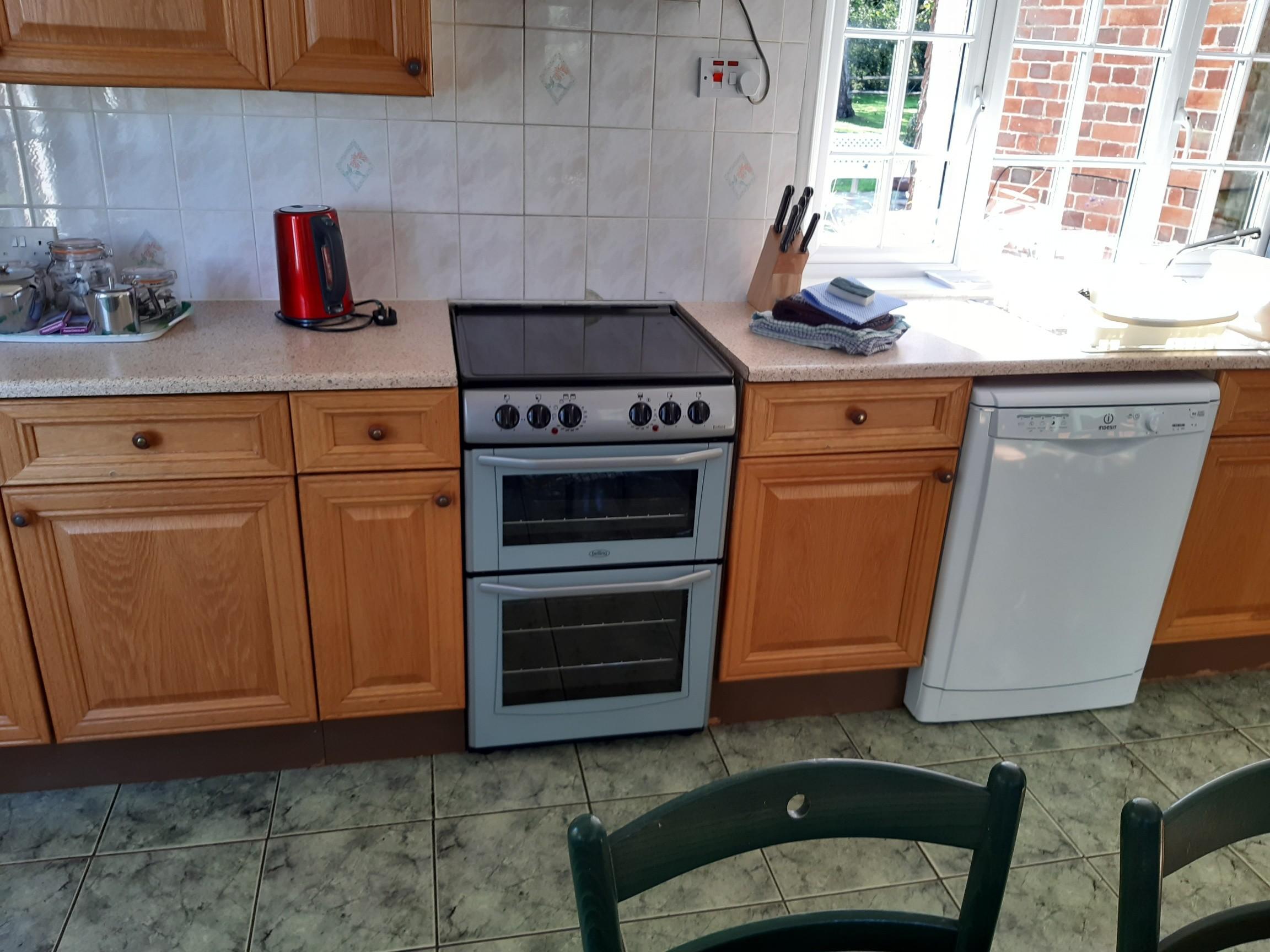 The Oast House kitchen