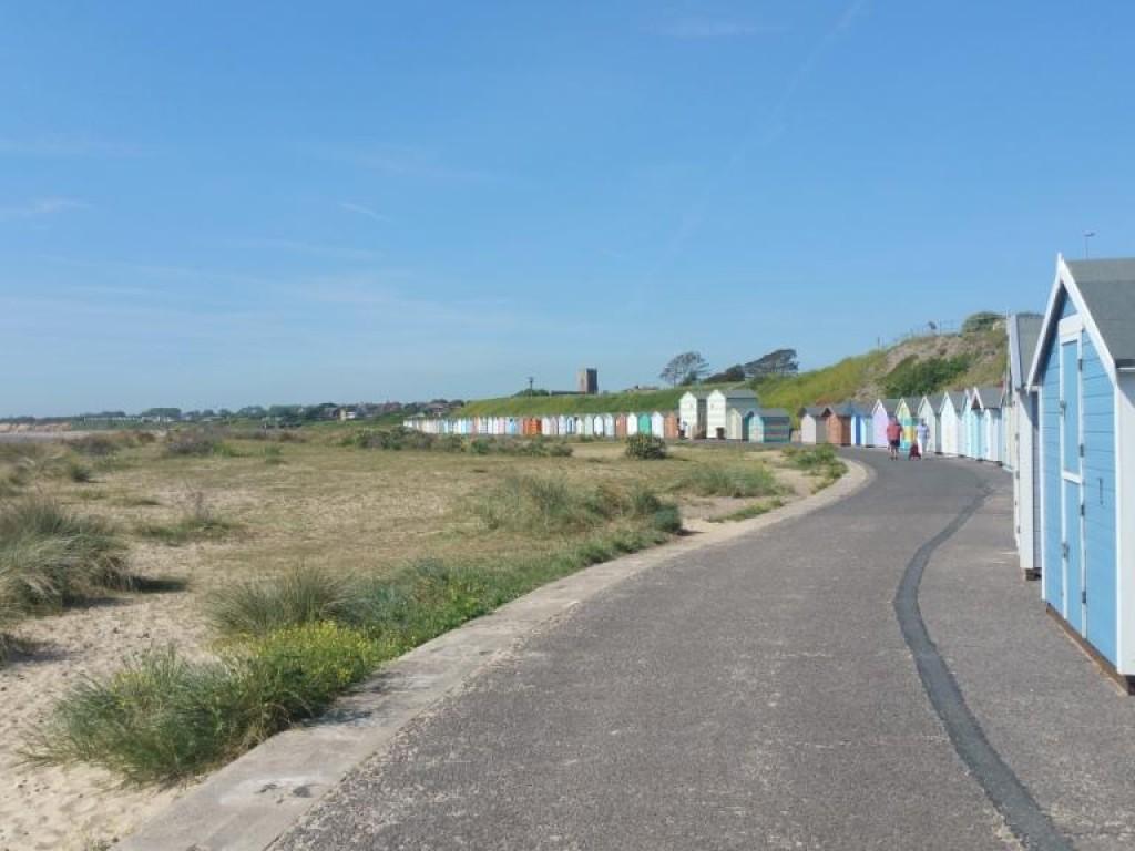 Nearby Pakefield Beach
