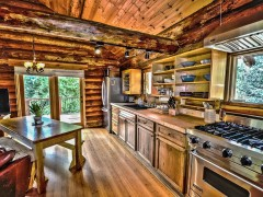 luxury log cabin holidays in the UK