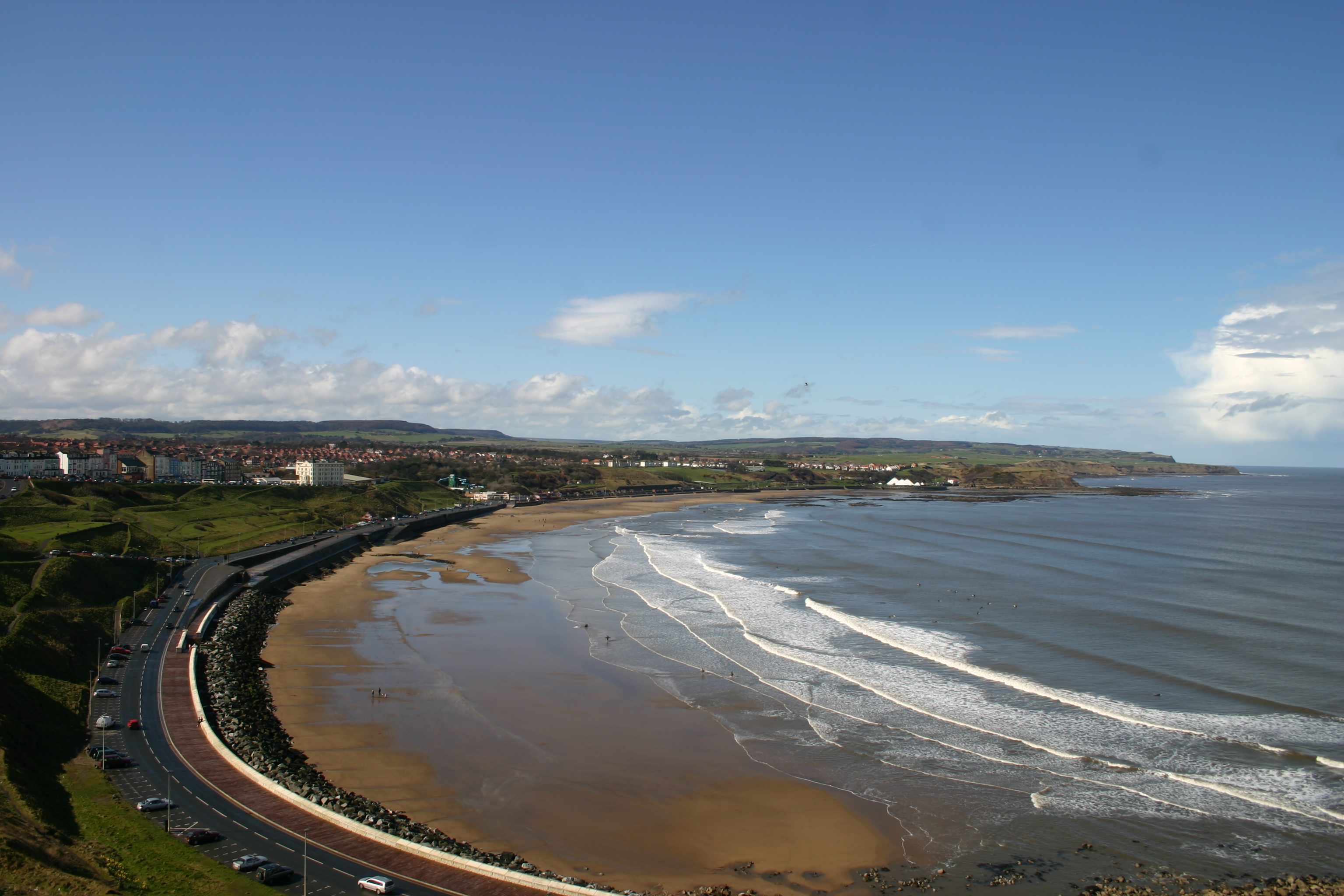 stretches of beach near our luxury cottages on the north east coast path