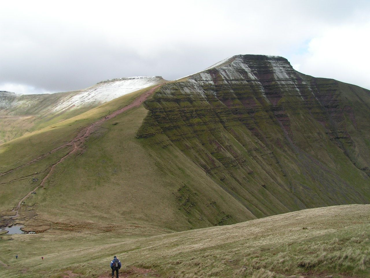 beautiful hiking near our luxury cottages for large groups in Mid- Wales