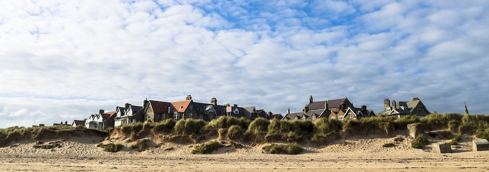 Coastal Cottages and barns in Northumbria